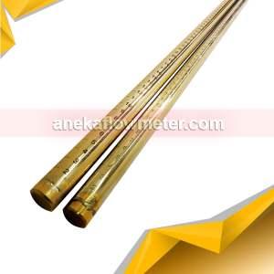 jual stick sounding kuningan 2 meter