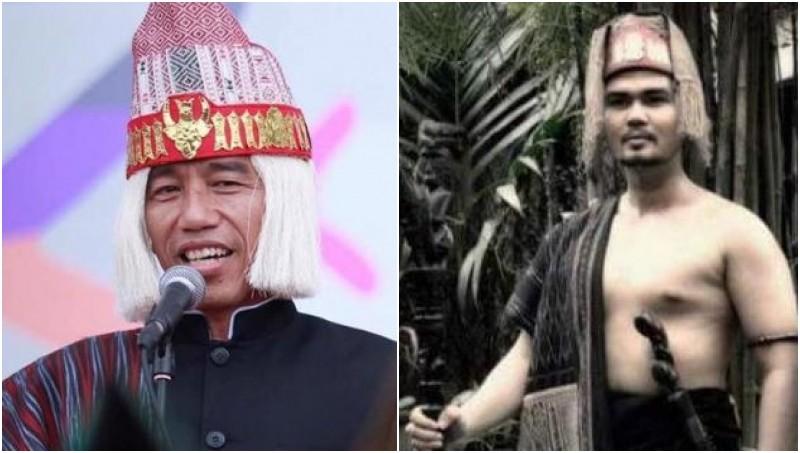 Tak Lambangkan Raja Batak, Penutup Kepala Jokowi Dinilai Salah