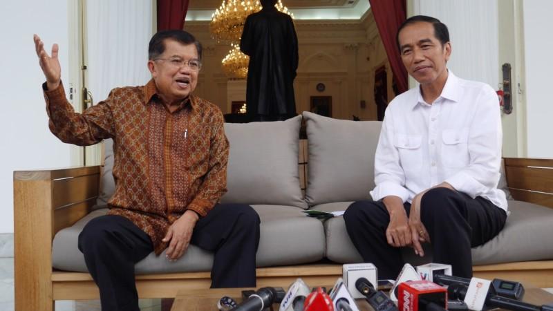 Soal JK Dukung Anies, Jokowi: Saya Tak Mau Memaksa Orang Lain untuk Netral