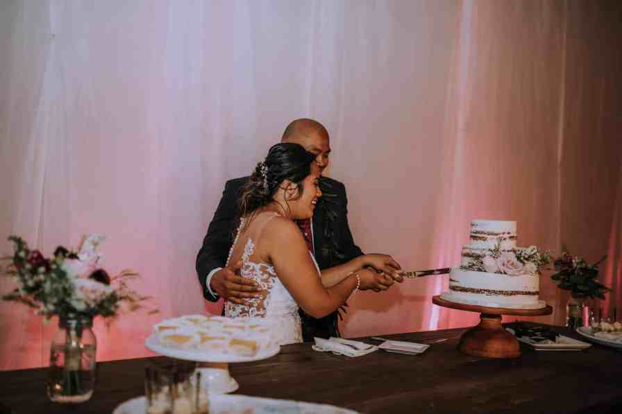 Wedding reception at Sunset Ranch | Anela Benavides Photography