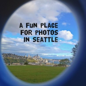 A fun place for photos in Seattle