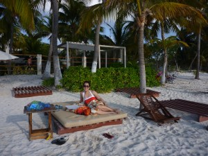 Isla Mujeres for families with young kids