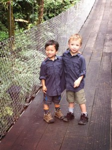 how to travel safely in costa rica with young kids
