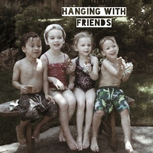Hanging with friends photo