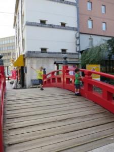 harmayabashi bridge kochi japan