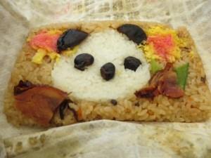 panda bento at ueno zoo
