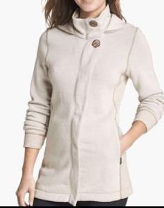 prana white jacket