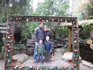 christmas at capilano suspension bridge is a great time to get photos