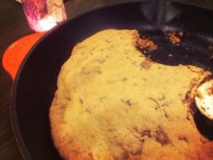 awesome make in skillet easy cookie