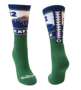 g206 settle 12th man socks