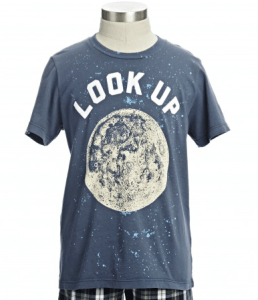 moon shirt for boys from peek