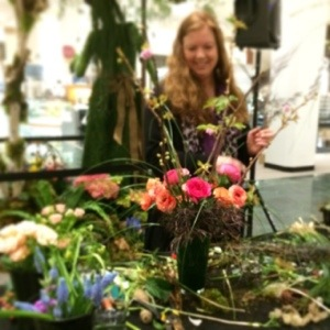 wendy Morgan from ravenna bloom at macys seattle