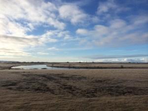 icelandic landscape near hotel ranga