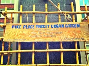 urban garden pike place market