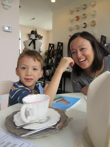 kids' tea at adorabelle tea room
