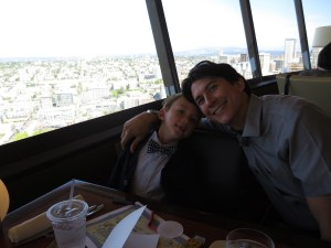 birthday at the space needle