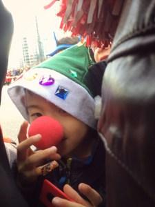 santa parade in Vancouver