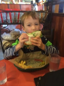 sandwich at avenue bread