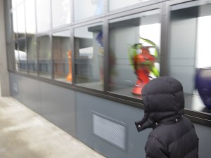 outdoor glass art near tacoma glass museum