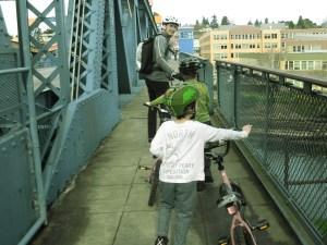 biking in seattle with kids