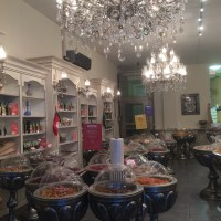 A fancy snack shop in Vancouver BC (Ayoub's Dried Fruits and Nuts)