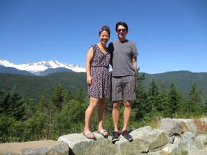 picture on the way to Whistler