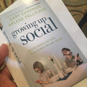 growing up social is a great book for families who are concerned about technology and kids