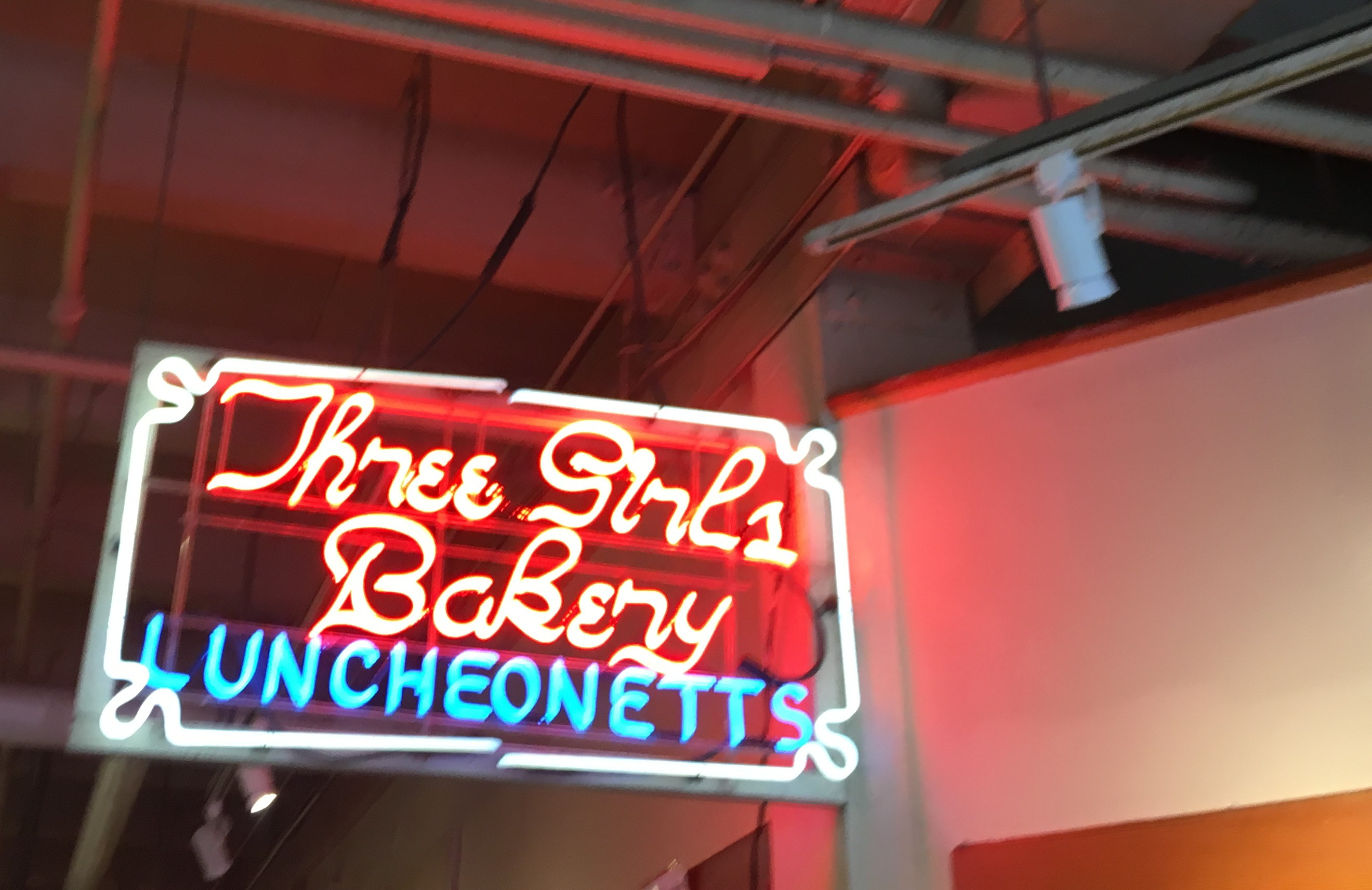 Three Girls Bakery in Pike Place Market