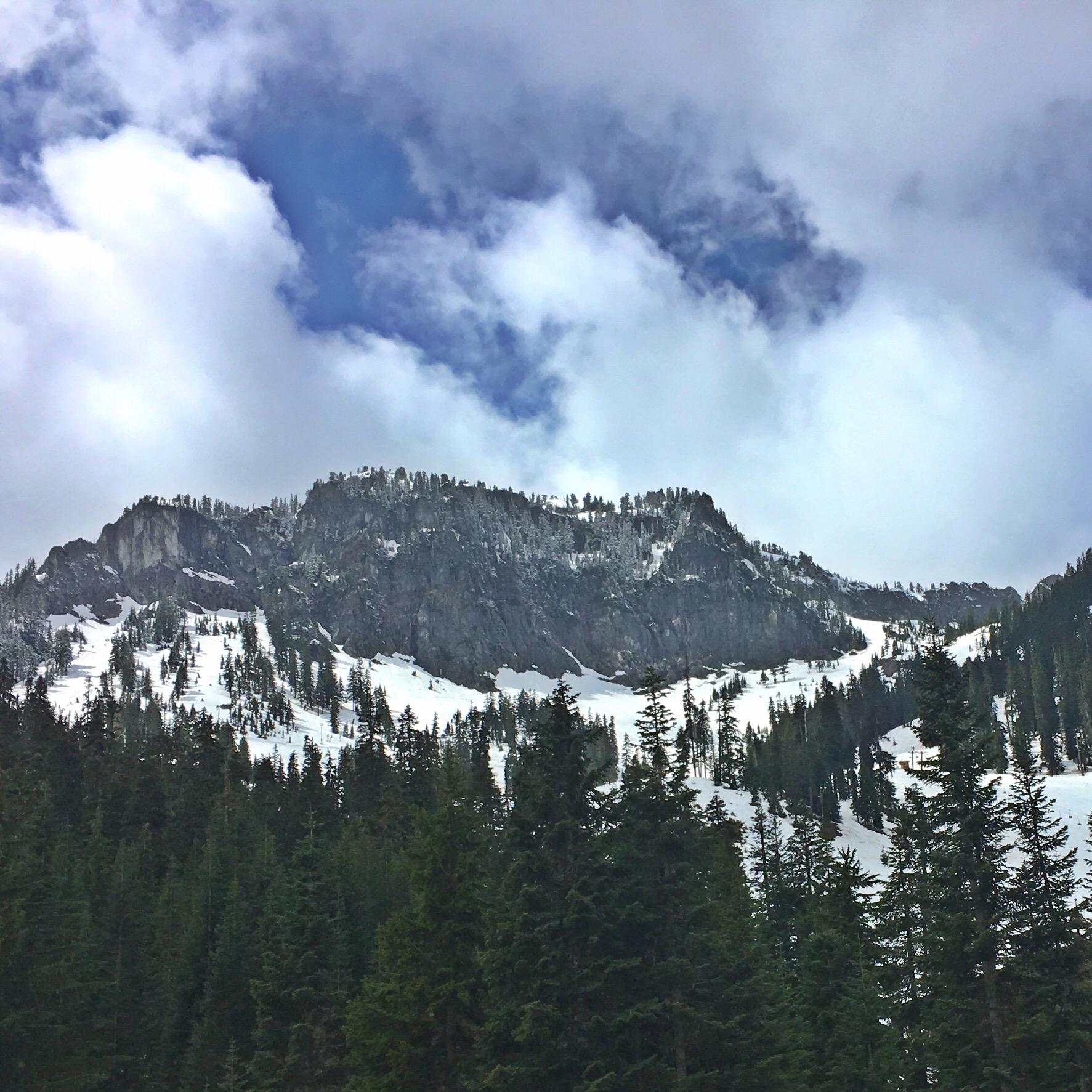 Alpental in spring