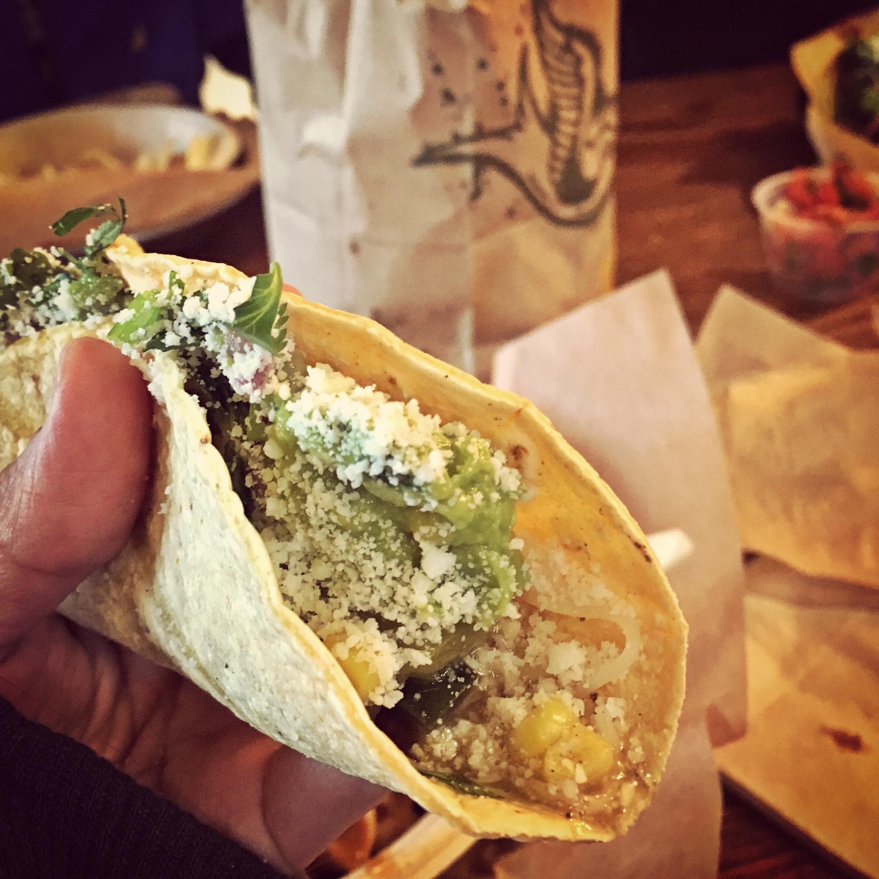 Qdoba taco in Seattle