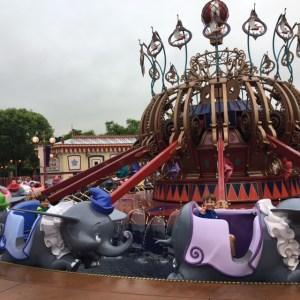 Dumbo Ride at Hong Kong Disneyland