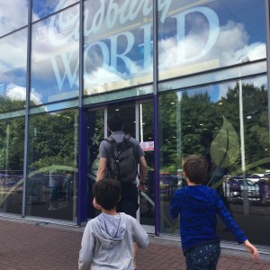 Cadbury World in Birmingham England