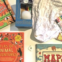 Travel-themed wish list for kids