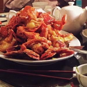 Lobster Dish at Golden Paramount Seafood Restaurant