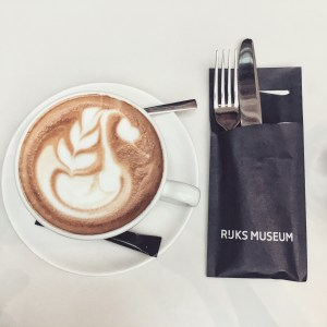 Rijksmuseum coffee in Amsterdam