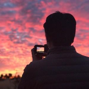 Sunset at Ularu