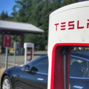 Tesla Arlington Supercharger