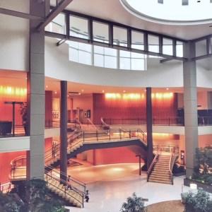 Gorgeous Lobby at the Hyatt Regency Belleveu