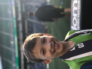 Seattle with kids Pitchside at a seattle Sounders game
