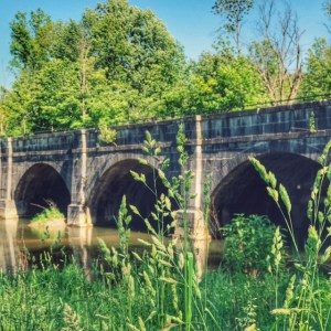 Aquaduct on the Erie Canal