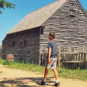 Plymouth Plantation on a trip to Boston with kids