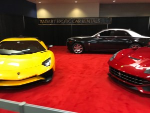 Fancy Cars at Seattle Auto Show