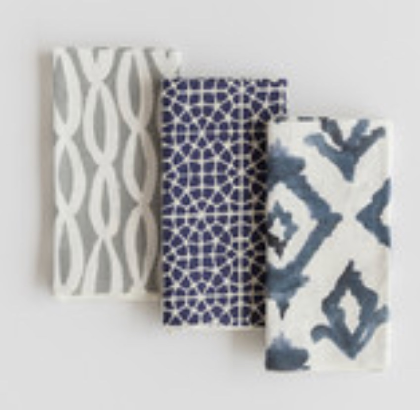 Napkins from Minted make great gifts