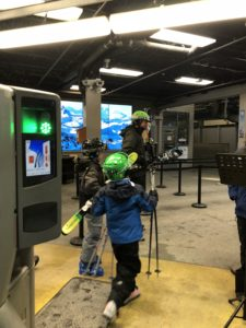 Kids going skiing with the family on a trip to Whistler in November