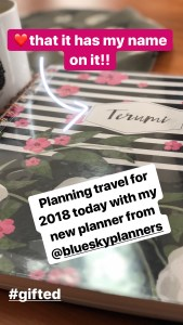 bluesky planner is customizable and cute- a perfect gift for someone who loves stationery
