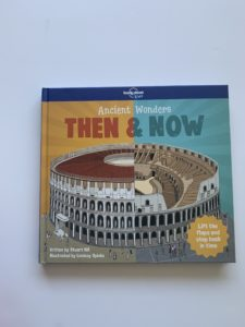 Ancient Wonders Then and Now from Lonely Planet is a good travel book for 8-10 year olds-the Colosseum facts are quite helpful if you are visiting Rome