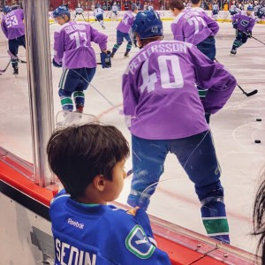 Vancouver Canucks games are fun for kids-you can often get a family pack and get reduced price tickets and other perks