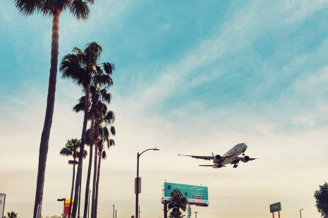 in-N-Out near Clutter's Park near LAX where you can watch the airplanes touchdown at the airport