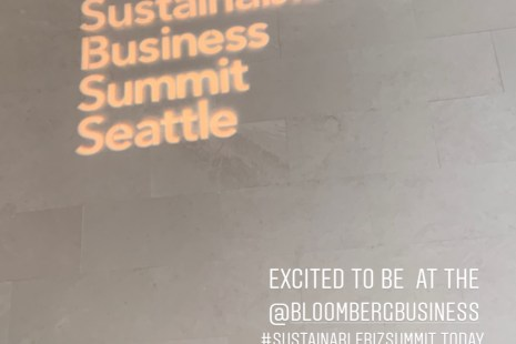 Bloomberg Sustainable Business Summit in Seattle