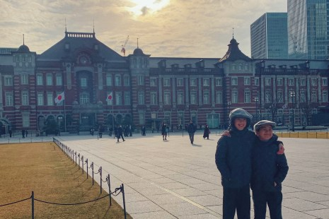 Staying at the Tokyo Station hotel with kids in February